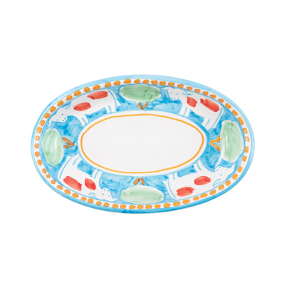 Campagna Mucca Small Oval Tray