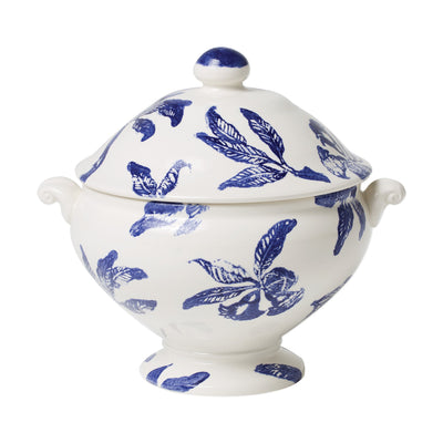 Melagrana Blu Soup Tureen by VIETRI