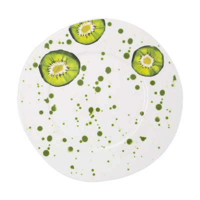Melamine Fruit Kiwi Dinner Plate by VIETRI