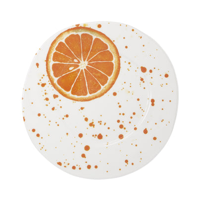 Melamine Fruit Orange Dinner Plate by VIETRI