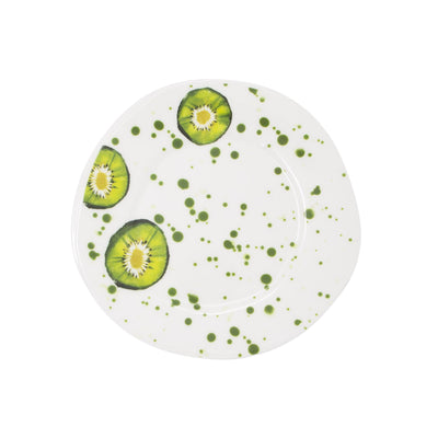 Melamine Fruit Kiwi Salad Plate by VIETRI
