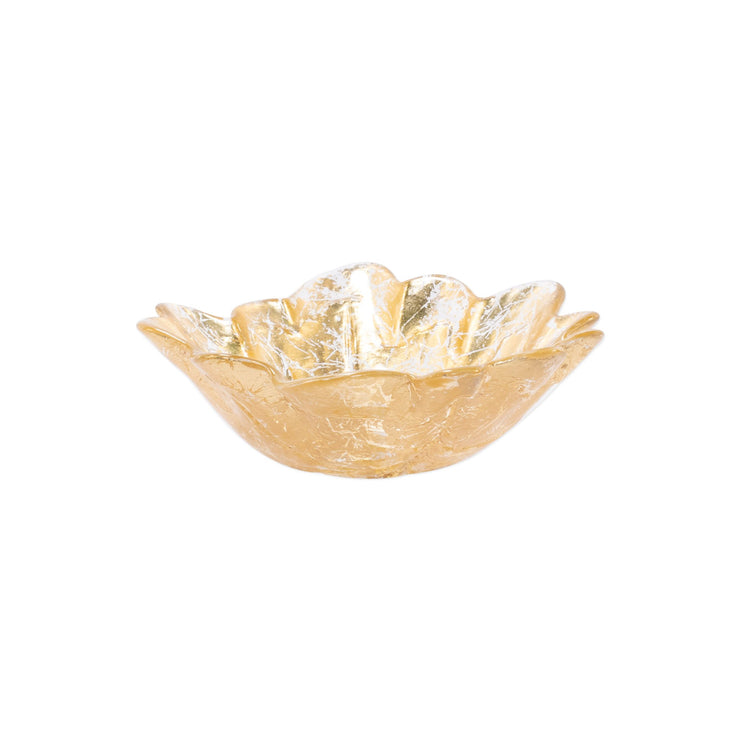 Moon Glass Leaf Small Bowl by VIETRI
