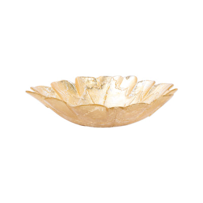 Moon Glass Leaf Medium Bowl by VIETRI