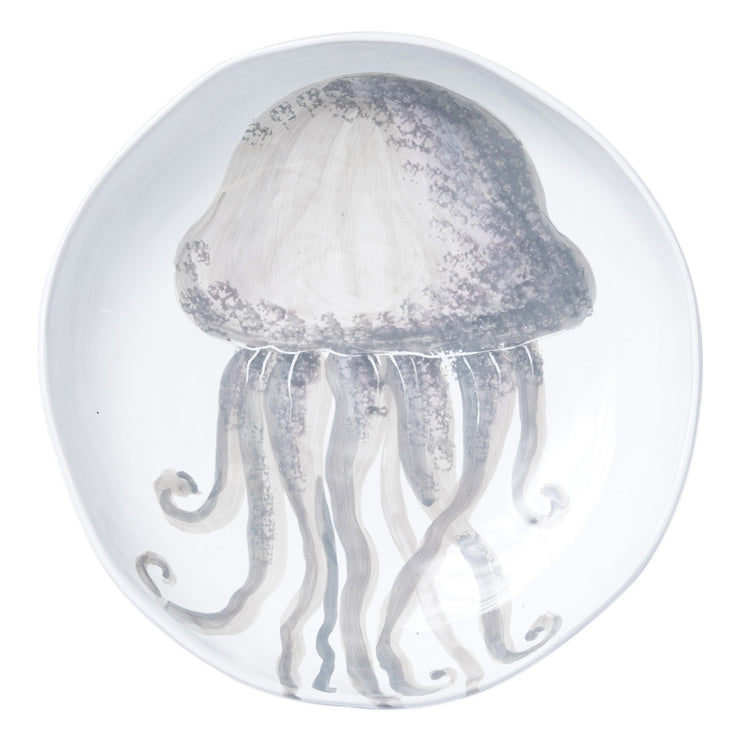 Marina Jellyfish Shallow Bowl by VIETRI