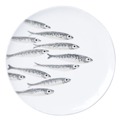 Marina Minnows Round Platter by VIETRI