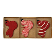 Ornaments Assorted Red Bird Ornaments - Set of 3 by VIETRI