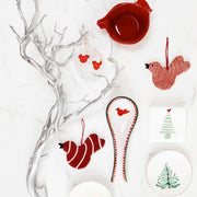 Ornaments Assorted Red Bird Ornaments - Set of 3