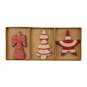 Ornaments Angel, Star, and Tree Ornaments - Set of 3 by VIETRI