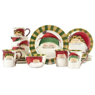 Old St. Nick Assorted Sixteen-Piece Place Setting by VIETRI