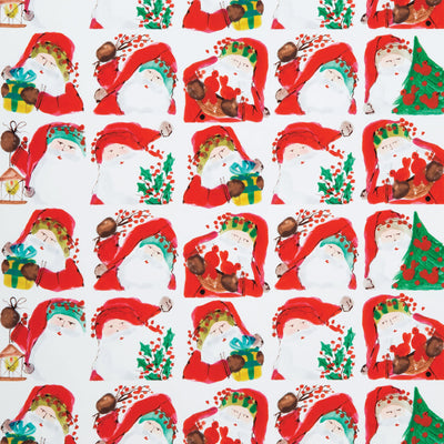 Old St Nick Santa Scene Gift Wrap Roll by VIETRI
