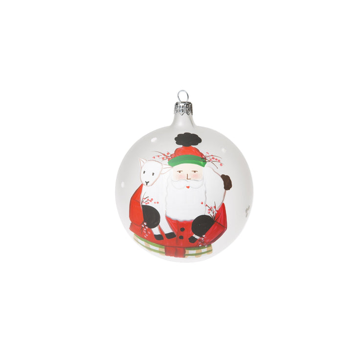 Old St Nick 2017 Limited Edition Ornament - Lamb by VIETRI