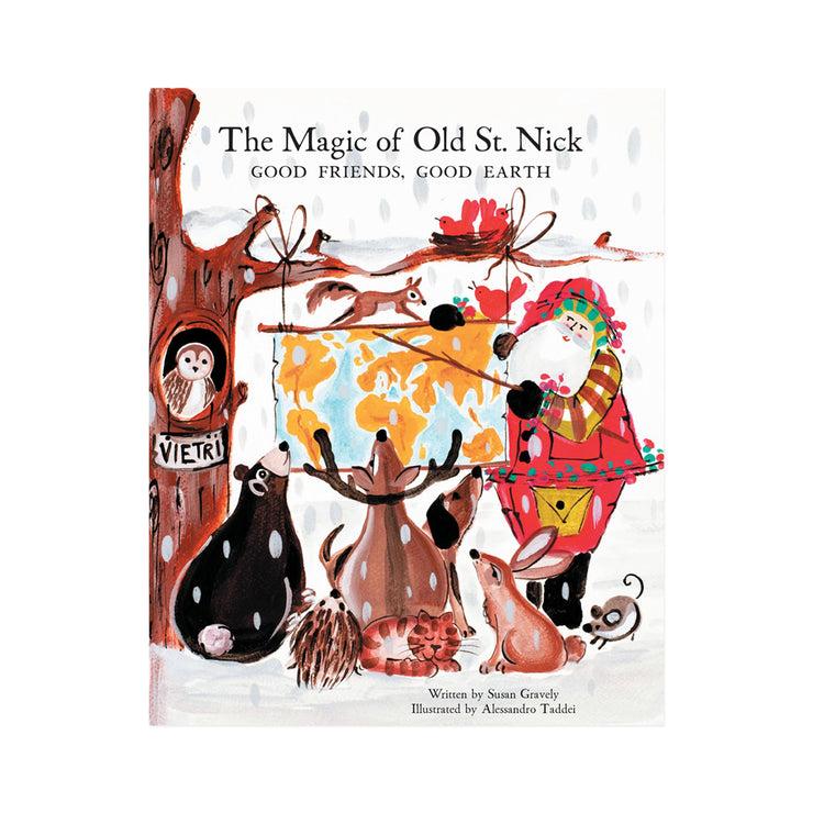 Old St. Nick The Magic of Old St. Nick: Good Friends, Good Earth Children's Book by VIETRI