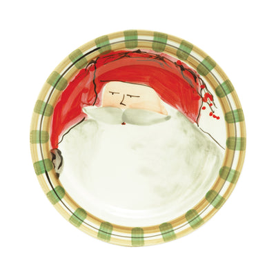 Old St Nick Dinner Plate - Red by VIETRI