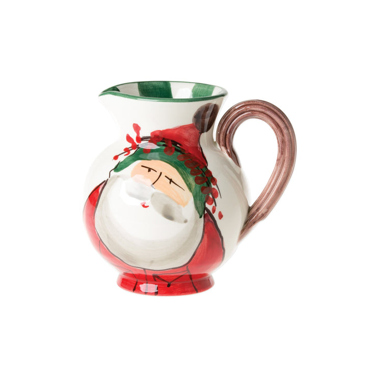 Old St. Nick Pitcher by VIETRI