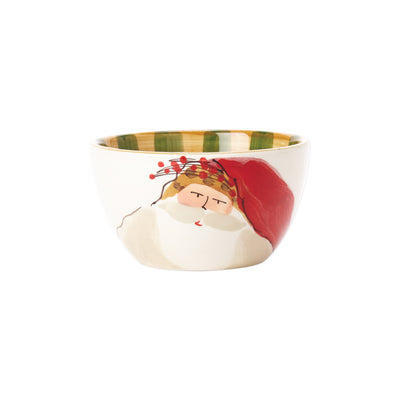 Old St. Nick Cereal Bowl - Animal Hat by VIETRI