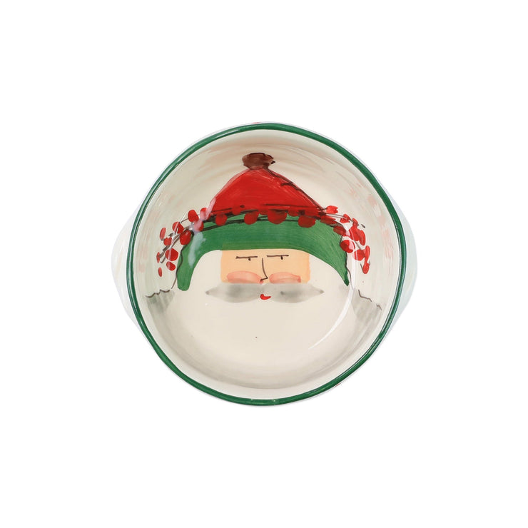 Old St. Nick Small Handled Round Baker by VIETRI