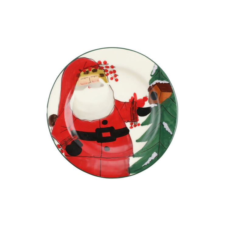 Old St. Nick 2020 Limited Edition Salad Plate by VIETRI