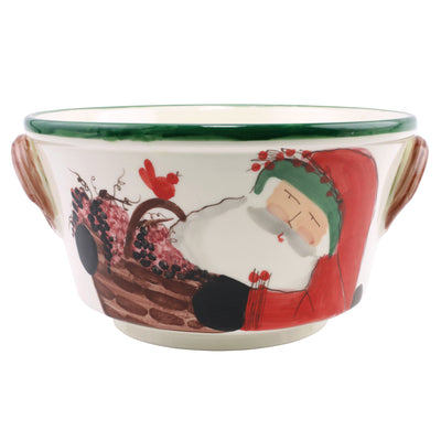 Old St. Nick Celebration Bucket w/ Grapes by VIETRI