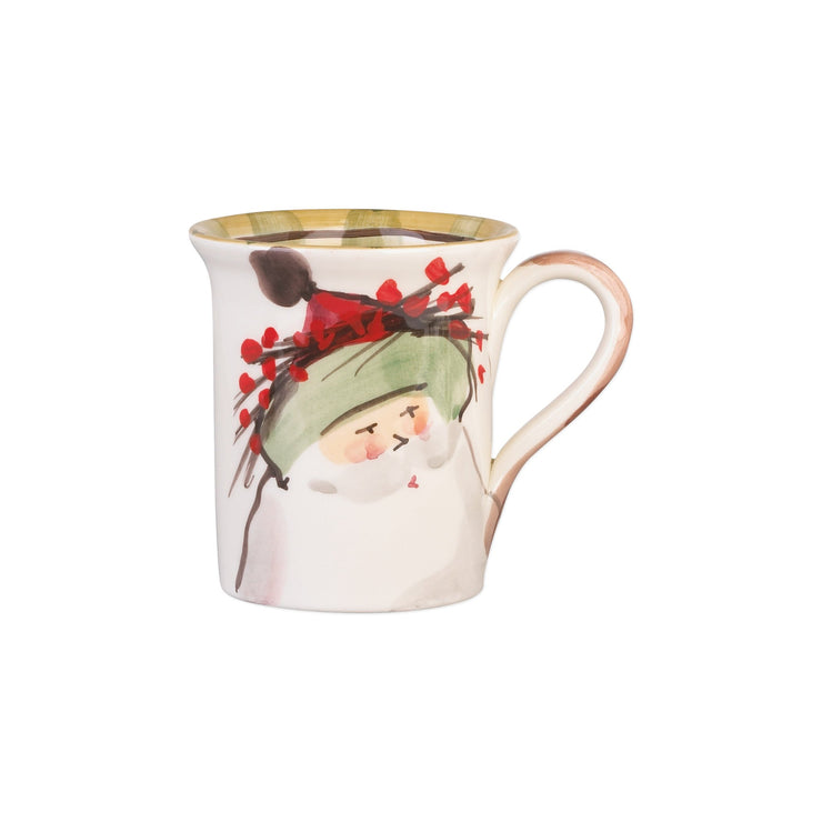 Old St Nick Mug - Green by VIETRI