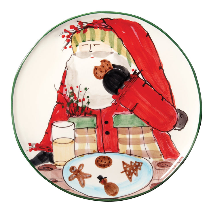 Old St Nick Cookie Platter by VIETRI