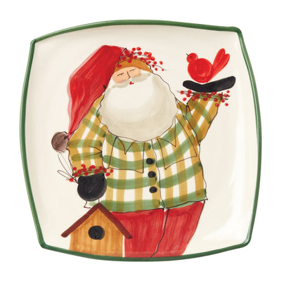 Old St Nick Square Platter by VIETRI