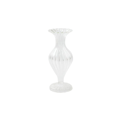Ottico Glass Short Bud Vase/Candleholder - Set of 2 by VIETRI