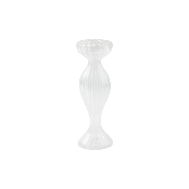 Ottico Glass Tall Bud Vase/Candleholder - Set of 2 by VIETRI