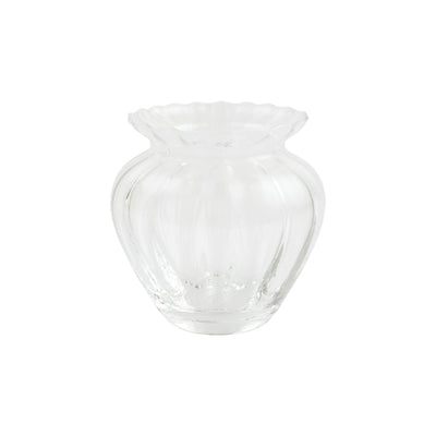 Ottico Glass Small Vase by VIETRI