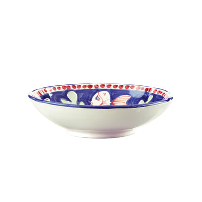 Campagna Pesce Coupe Pasta Bowl by VIETRI