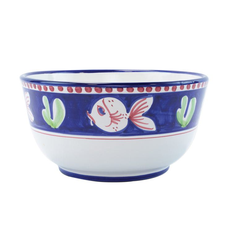 Campagna Pesce Deep Serving Bowl by VIETRI