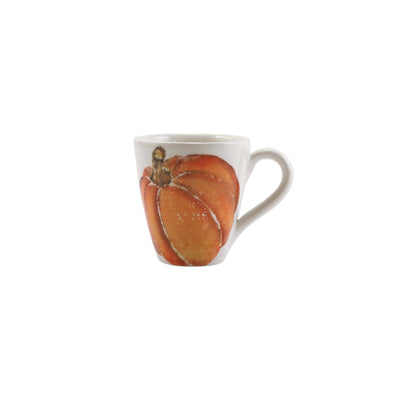 Pumpkins Mug - Orange Small Pumpkin by VIETRI