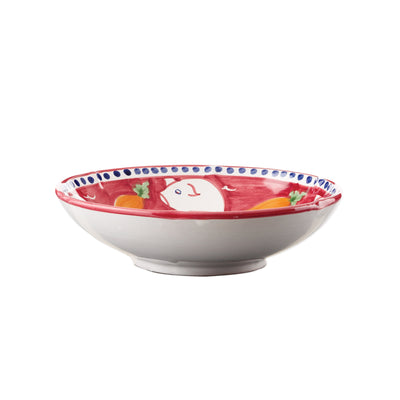 Campagna Porco Coupe Pasta Bowl by VIETRI