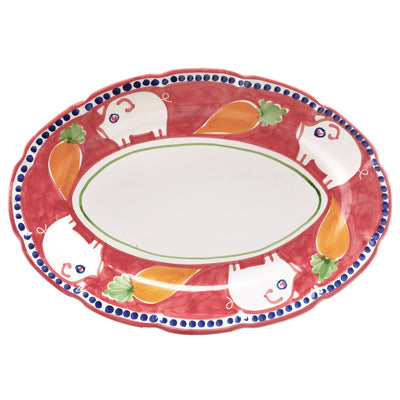 Campagna Porco Oval Platter