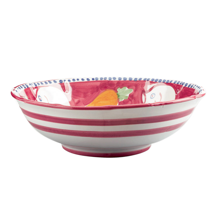 Campagna Porco Large Serving Bowl by VIETRI