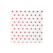 Papersoft Napkins Red Dot Dinner Napkins (Pack of 50) by VIETRI