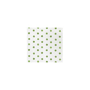 Papersoft Napkins Dot Green Cocktail Napkins (Pack of 20) by VIETRI