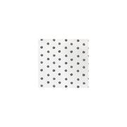 Papersoft Napkins Dot Gray Cocktail Napkins (Pack of 20) by VIETRI