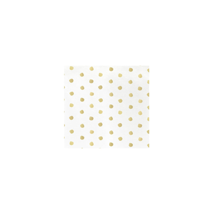 Papersoft Napkins Linen Dot Cocktail Napkins (Pack of 20) by VIETRI