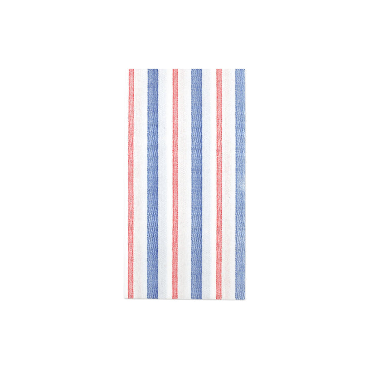 Papersoft Napkins Americana Stripe Guest Towels (Pack of 20) by VIETRI