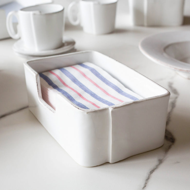 Papersoft Napkins Americana Stripe Guest Towels