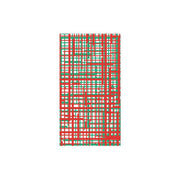 Papersoft Napkins Green & Red Plaid Guest Towels (Pack of 20) by VIETRI
