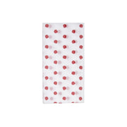 Papersoft Napkins Red Dot Guest Towels (Pack of 50) by VIETRI