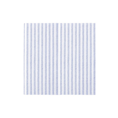 Papersoft Napkins Capri Blue Dinner Napkins (Pack of 20) by VIETRI