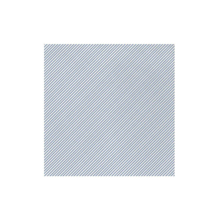 Papersoft Napkins Seersucker Stripe Blue Dinner Napkins (Pack of 50) by VIETRI