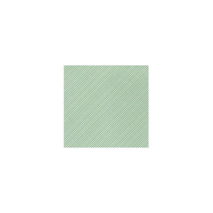 Papersoft Napkins Seersucker Stripe Green Cocktail Napkins (Pack of 20) by VIETRI