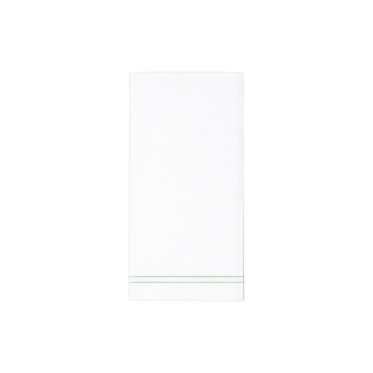 Papersoft Napkins Linea Green Guest Towels by VIETRI