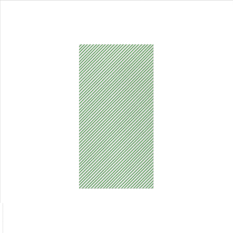Papersoft Napkins Seersucker Stripe Green Guest Towels (Pack of 50) by VIETRI