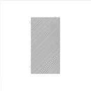 Papersoft Napkins Seersucker Stripe Gray Guest Towels (Pack of 50) by VIETRI