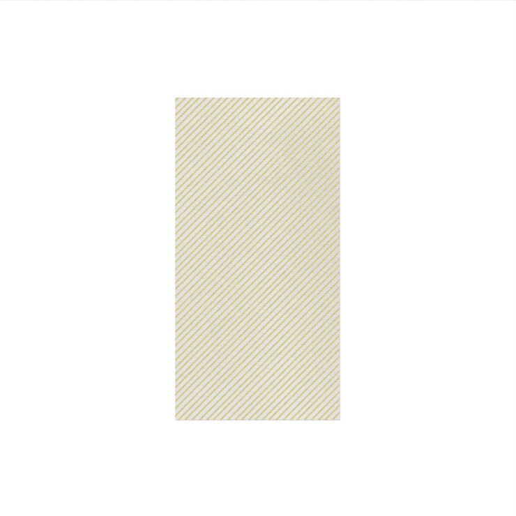 Papersoft Napkins Seersucker Stripe Linen Guest Towels (Pack of 50) by VIETRI
