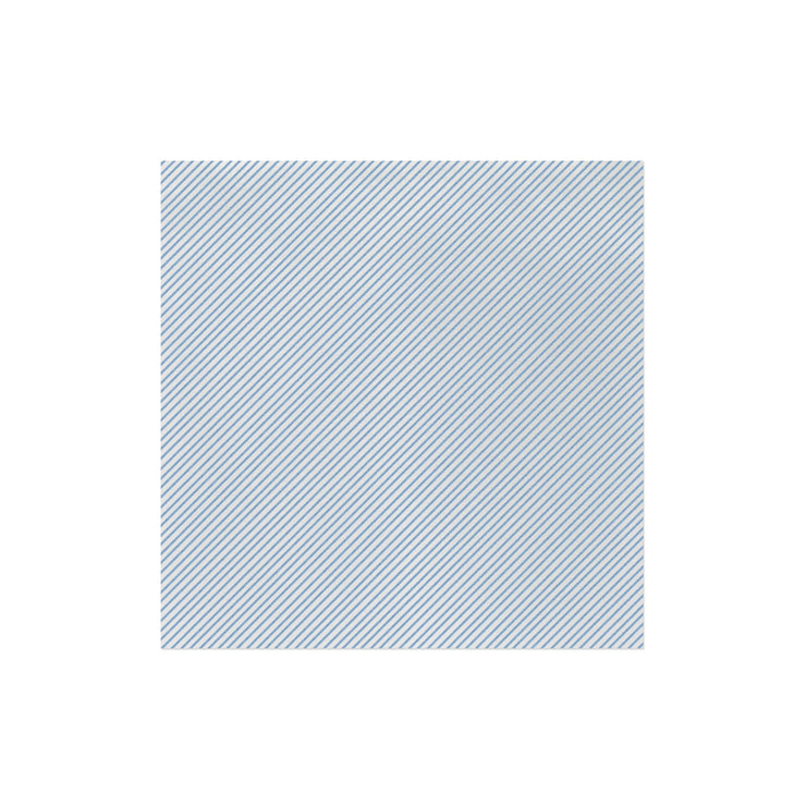 Papersoft Napkins Seersucker Stripe Light Blue Dinner Napkins (Pack of 50) by VIETRI